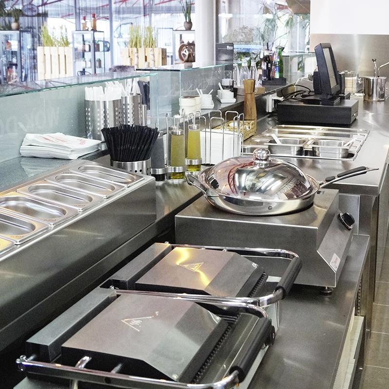 Foodbar-Küche