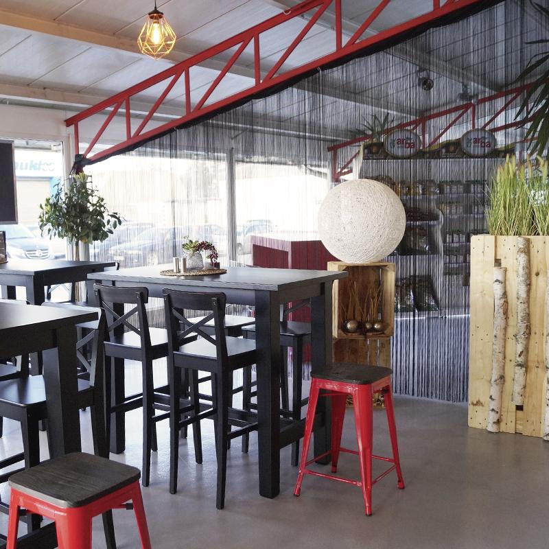 Foodbar-Innenraum