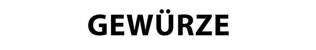 Gewürze und Sossen der Oeztek Vertriebs GmbH