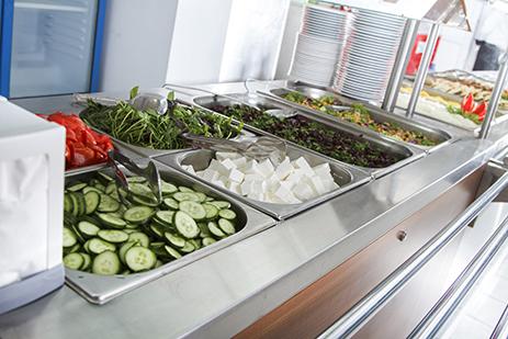 Die Döner- und Feinkostaktionen bringen Abwechslung in Ihr Betriebsrestaurant.